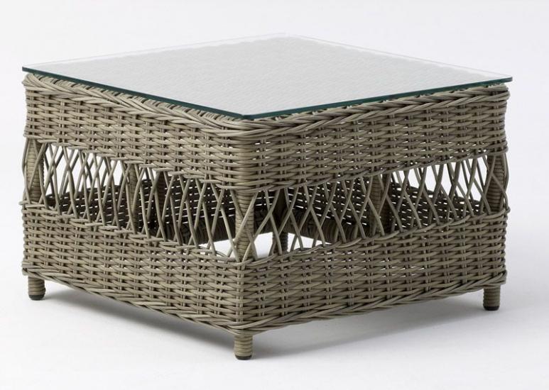 Sika-Design Anna Puf - Grå Rattan