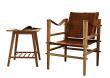 Noble Safari stol - Brun læder