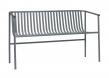 Velsete Hübsch Bænk udendørs - Grå metal KI-91