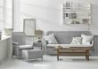 Sika-Design Dawn Loungesofa - Lys grå