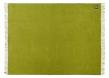 Athen Plaid - Mørk lime Uld - 200x130