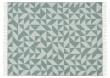 Twist a Twill Plaid, Uld, Ocean-Green, 190x130
