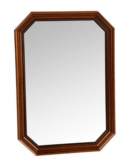 Sienna Spejl - Spejl med brun ramme