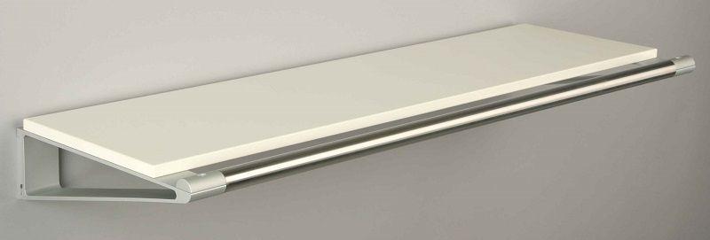 KNAX Hattehylde - 80 cm - Hvid