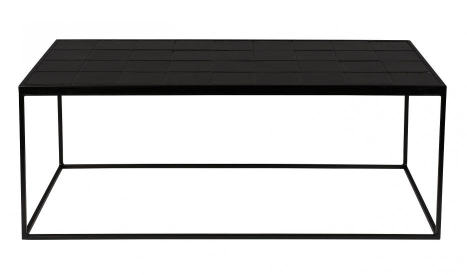 Zuiver Glazed Sofabord 93x43 - Sort
