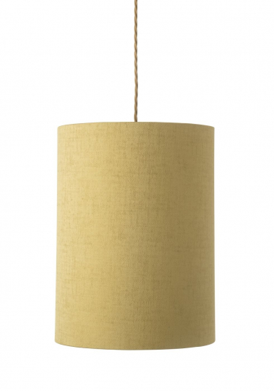 Ebb&Flow - Lampeskærm, gul marl, Ø30