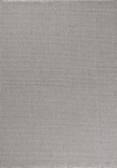 Linie Design Ajo Grå uld tæppe - 200x300