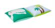 Hoppekids - Dinosaur Pudesæt 2 stk - Blå og grøn - Puder med dinosaurtryk
