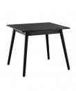 FDB Møbler - C35A Spisebord 82x82 - Sort