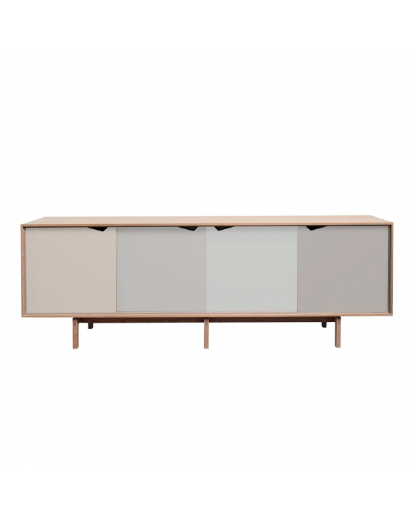 Andersen Furniture - S1 Skænk - Eg sæbe - Doeskin