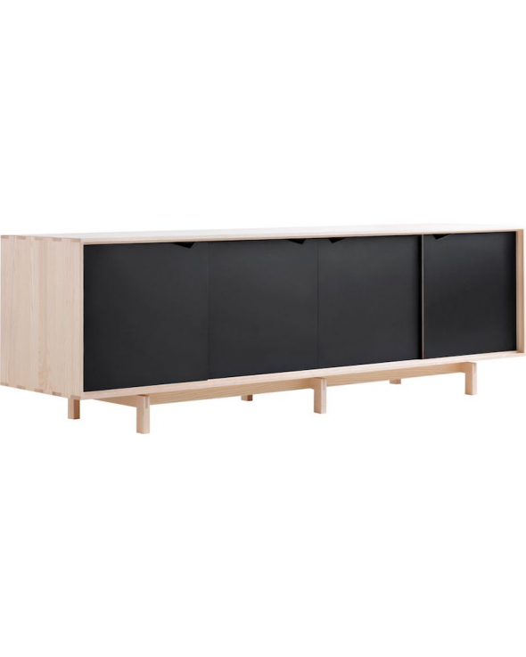 Andersen Furniture - S1 Skænk - Eg sæbe - Sort