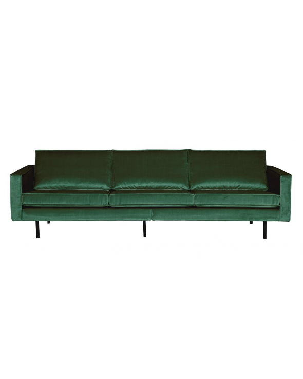 Rodeo 3-pers. Sofa m/velour - Green forest