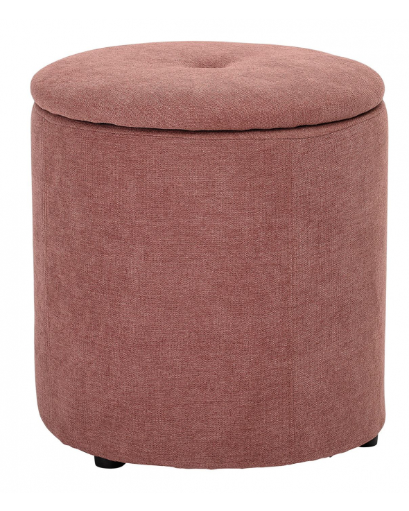 Bloomingville Mini Puf Ø37 - Rosa
