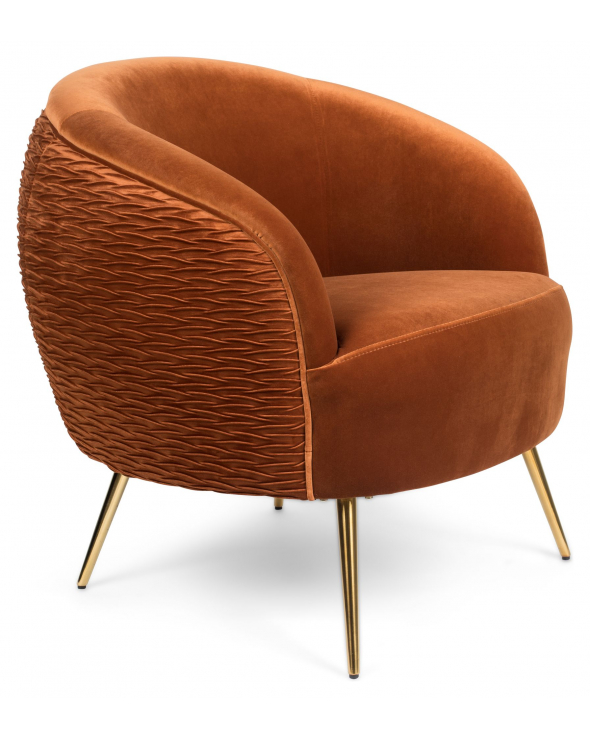 So Curvy Loungestol - Orange