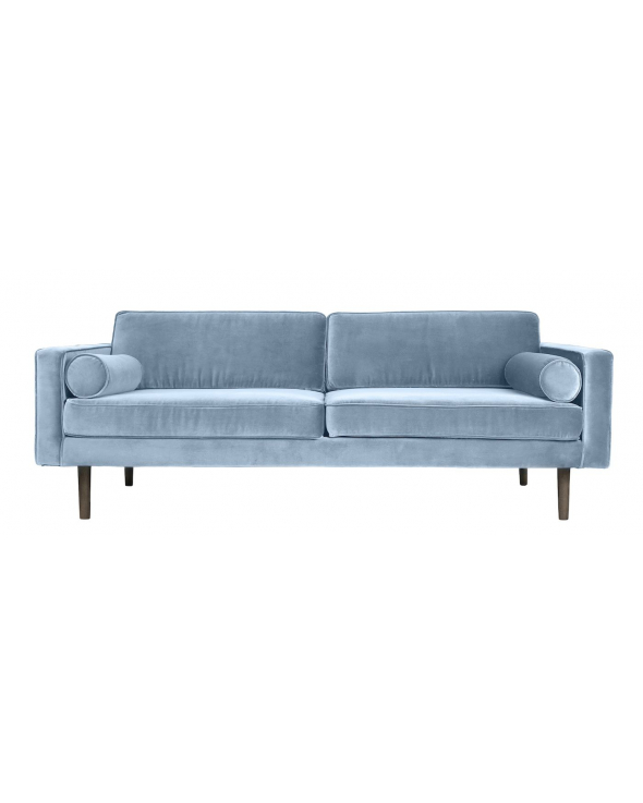 Wind 3-pers. Sofa - Pastel Blå Velour