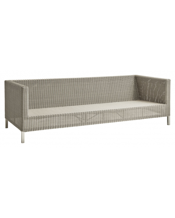Cane-line Connect 3-pers. sofa, Taupe