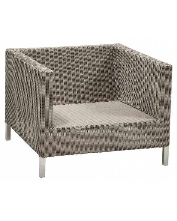 Cane-line Connect loungestol, Taupe