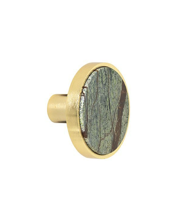 Cozy Living Marmor Knage L - Forest/Gold