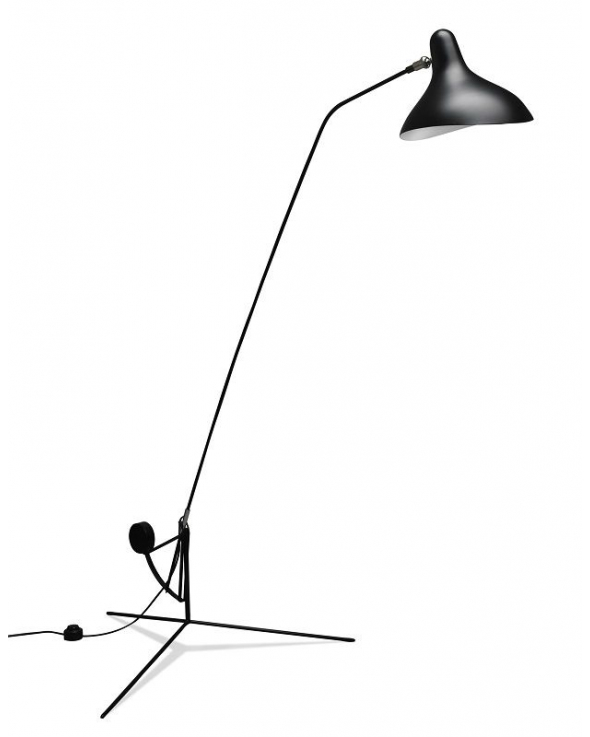 DCWeditions Mantis Gulvlampe - Sort