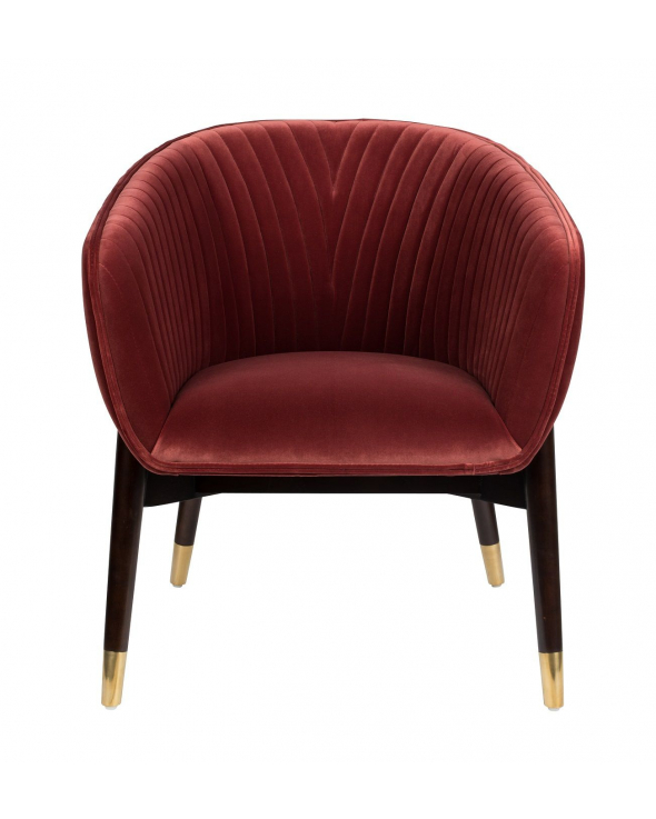 Dutchbone Dolly Loungestol - Burgundy