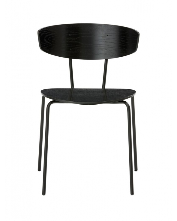Ferm Living - Herman Chair - Sort egefinér