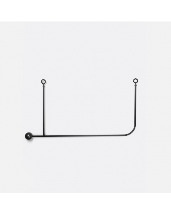 Ferm Living - Pujo Hanging Coat Rack - Sort