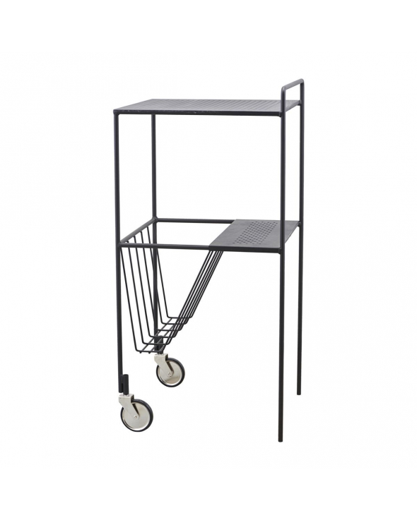 House Doctor Use Trolley m. 2 hjul - Mat Sort