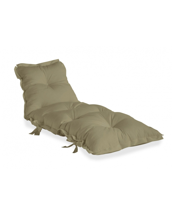 Sit&Sleep Out Futon madras/stol - Beige