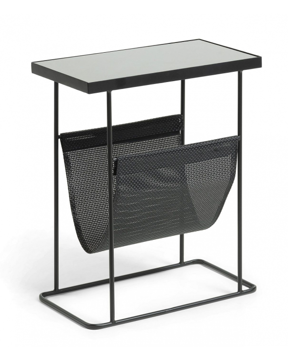 LaForma - Vogue Sidebord m. magasinholder - Sort
