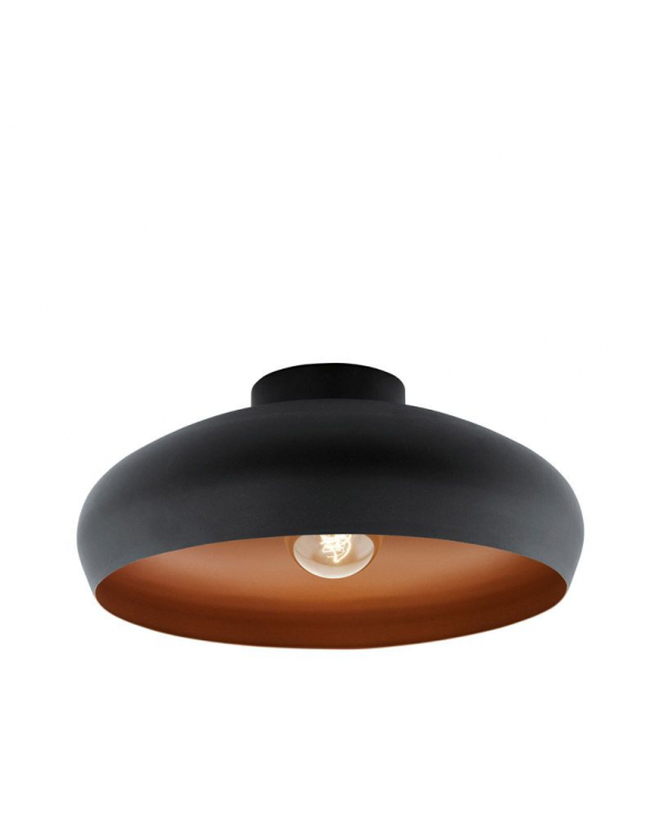 Mogano Loftlampe - Sort