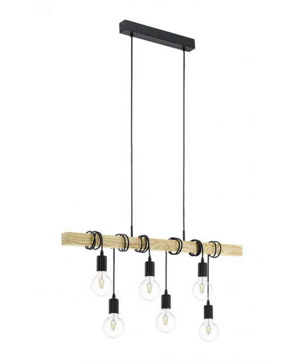 Townshend Pendler Loftlampe - Sort