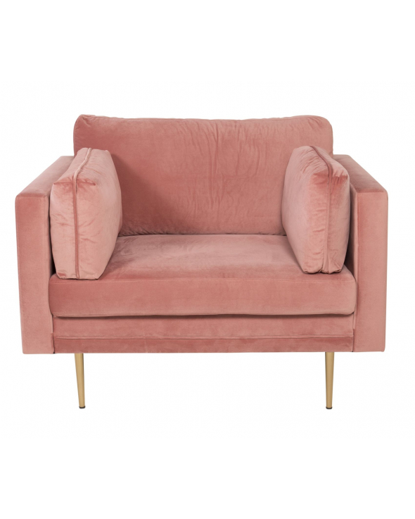 Boom Lænestol, Dusty pink Velour
