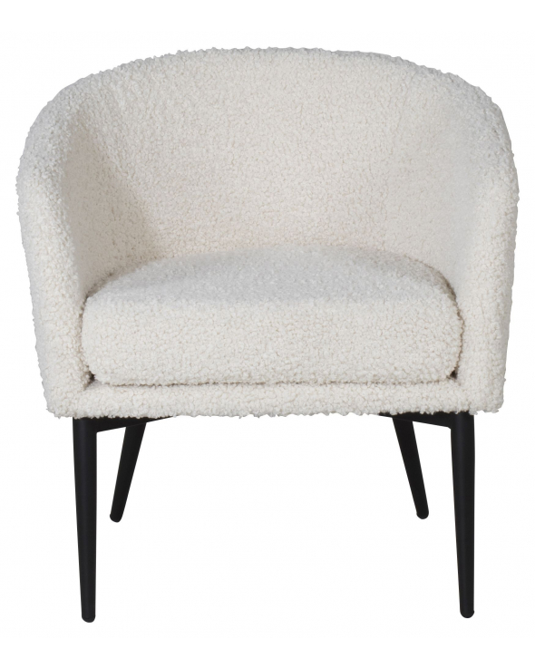 Fluffy Loungestol, Offwhite
