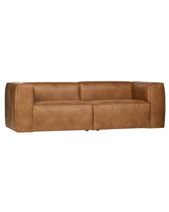 Woood Bean 3,5-pers. Sofa - Cognac