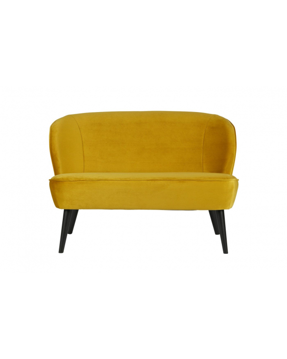 Woood - Sara Lounge sofa - Gul Velour