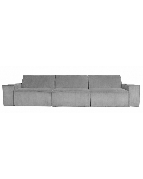 Zuiver James 3-pers. Sofa - Cool grey