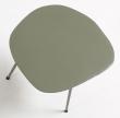 LaForma Rotary Sidebord - Grøn metal