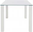 Nat Spisebord Hvid Højglans - 160x90
