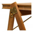 We Do Wood Field Skrivebord - Eg/Messing