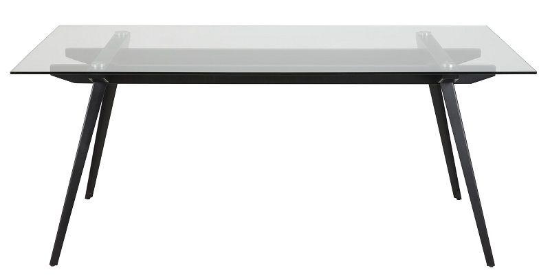 Sango Spisebord - Glas - 180x90 - Spisebord med glasbordplade