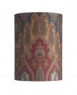 Ebb&Flow - Lampeskærm, brocade, blue/red, Ø30, bordlampe