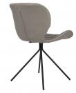 Zuiver - OMG Spisebordsstol - Grå PU læder
