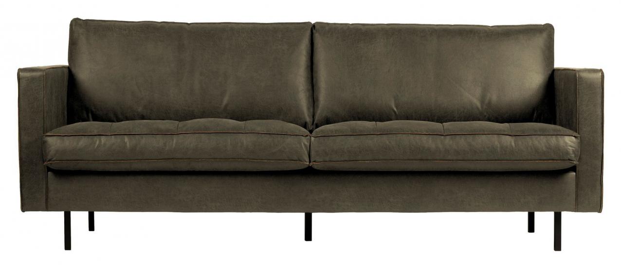 Rodeo Classic 2,5-pers. Sofa - Army Øko-læder