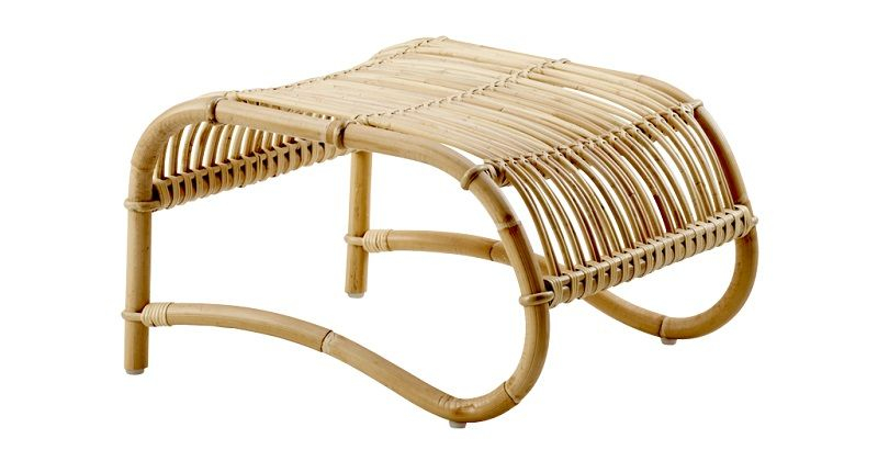 ICONS Teddy Fodskammel - Skin-on natural - Design - Viggo Boesen