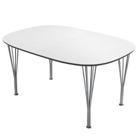 Lotus Spisebord hvid laminat - 100x150