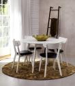 Vega Spisebordsstol - Sort m. Sort PU sæde