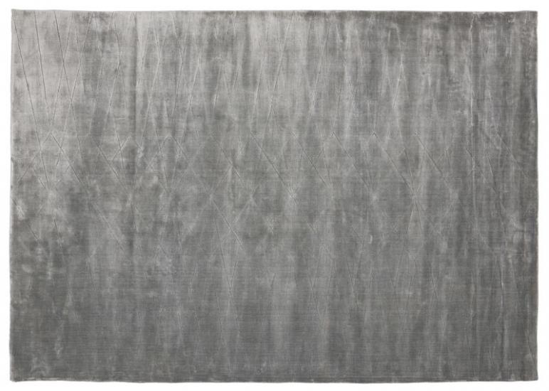 Linie Design Edge Tæppe - Grå - 200x300 - 200x300 cm