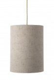 Ebb&Flow - Lampeskærm, sand marl, Ø30