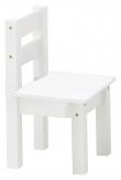 Hoppekids Mads Børnestol - Hvid stol til børneværelset