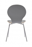 Fusion Spisebordsstol - Lys Grå krydsfinér
